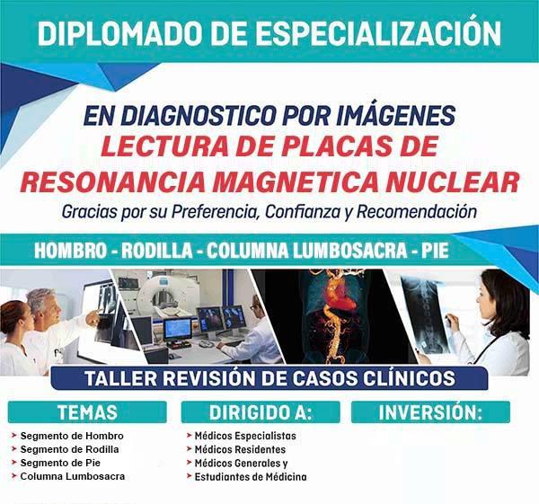 EducaPerú Diplomado Lectura de Placas en Resonancia Magnética